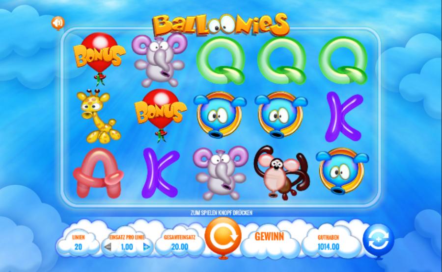 Spiele Balloonies - Video Slots Online