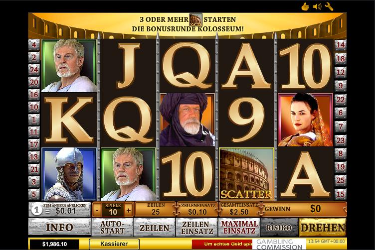 Kostenlos Gladiator Slot Spielen