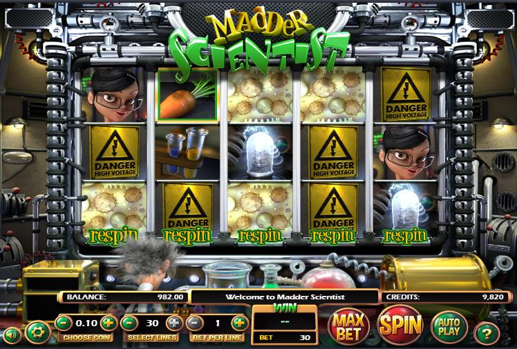 Spiele Madder Scientist - Video Slots Online