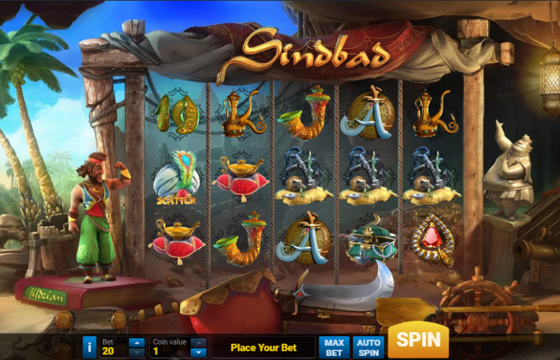Spiele Sindbad - Video Slots Online