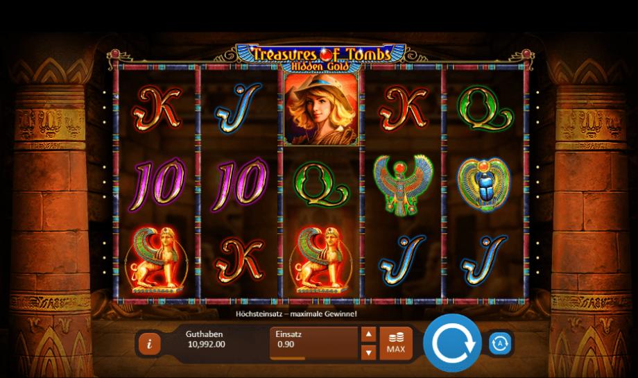 Spiele Treasure Tomb - Video Slots Online