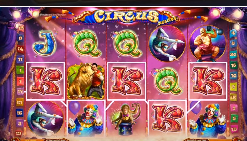 Spiele Sinister Circus - Video Slots Online